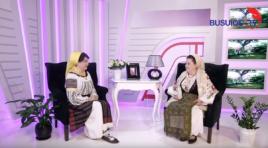 """Maria Sarabaș în vizită la emisiunea ,,Cântă-mi lăutare"""""""