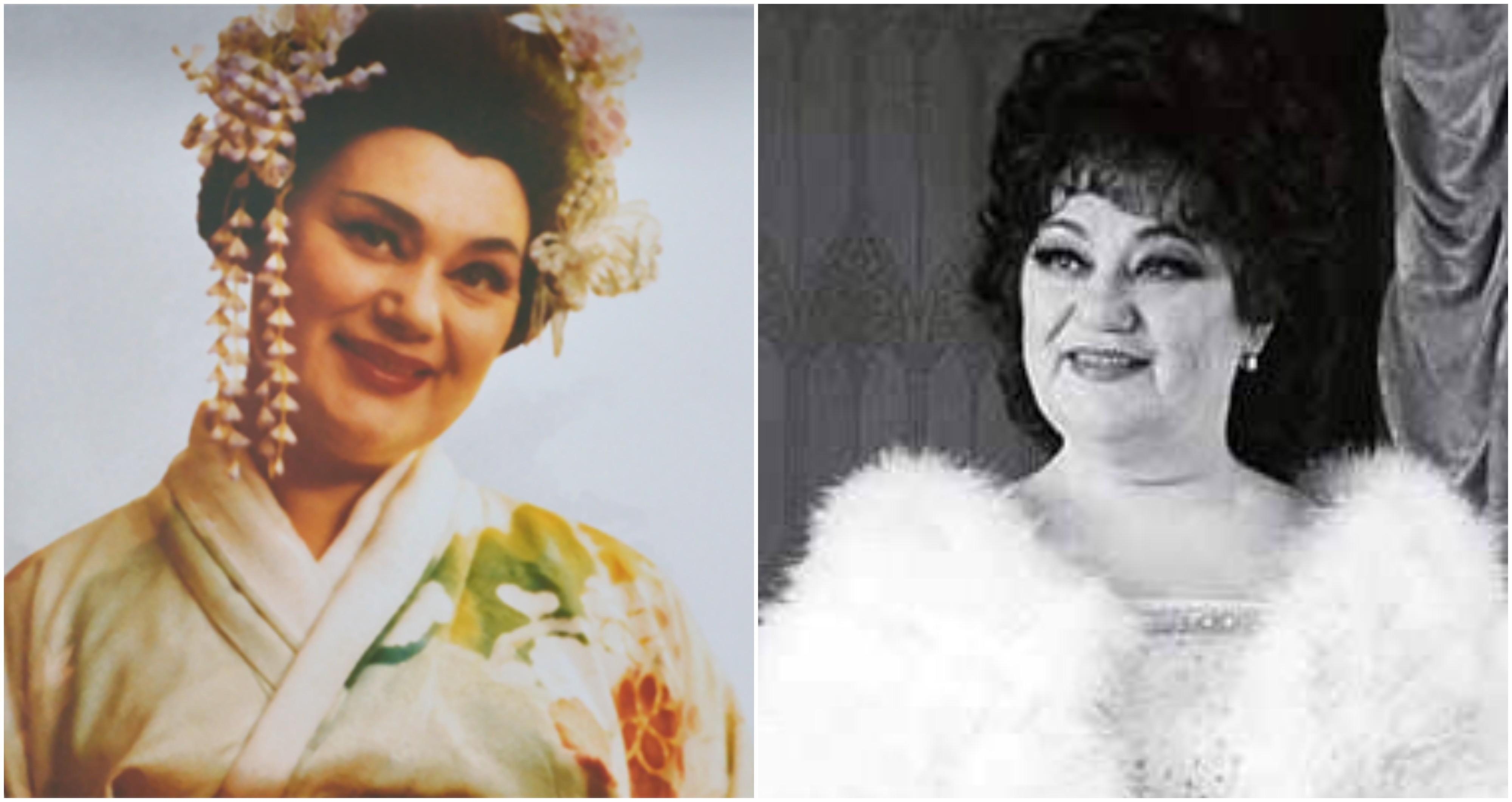 Maria Bieșu – Primadona Operei Naționale din Republica Moldova ar fi împlinit astăzi 82 de ani.
