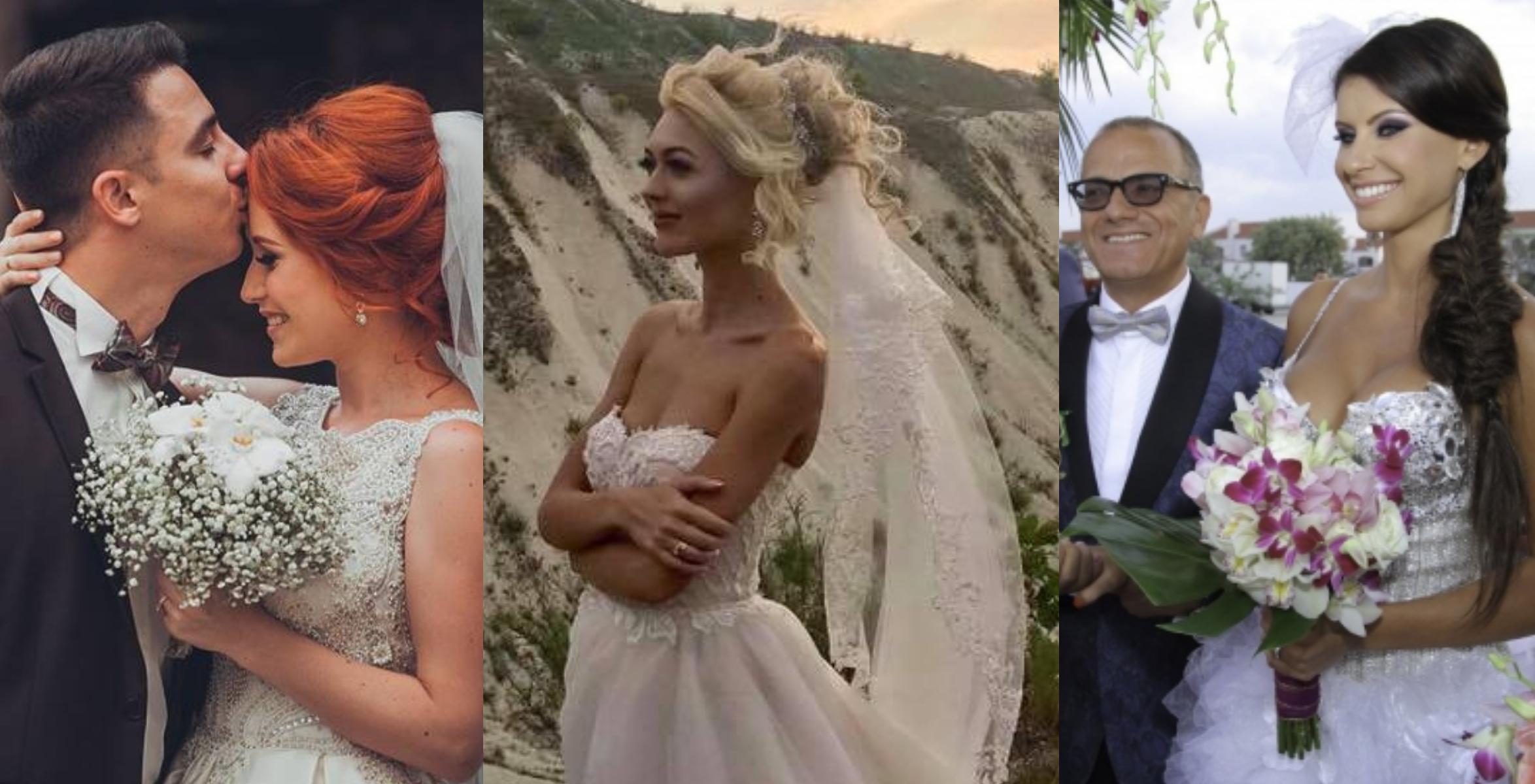 Nuntă de vedetă | Uite cum arătau 5 cântărețe de la noi în cea mai importantă zi din viață