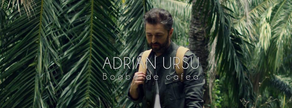 """Vești proaspete de la Adrian Ursu! Astăzi, artistul a lansat videoclipul noii sale piese, """"Boabe de Cafea""""."""