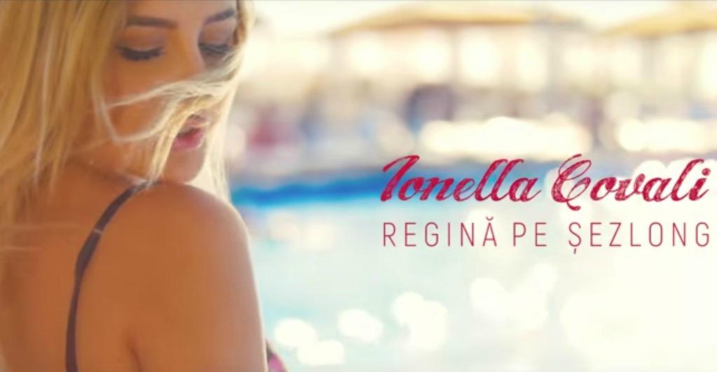 Ionella Covali e regină pe șezlong în cel mai nou videoclip!