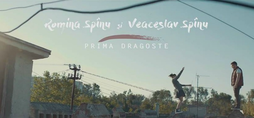 """""""Prima dragoste""""- noul videoclip semnat de Romina și Veaceslav Spinu!"""
