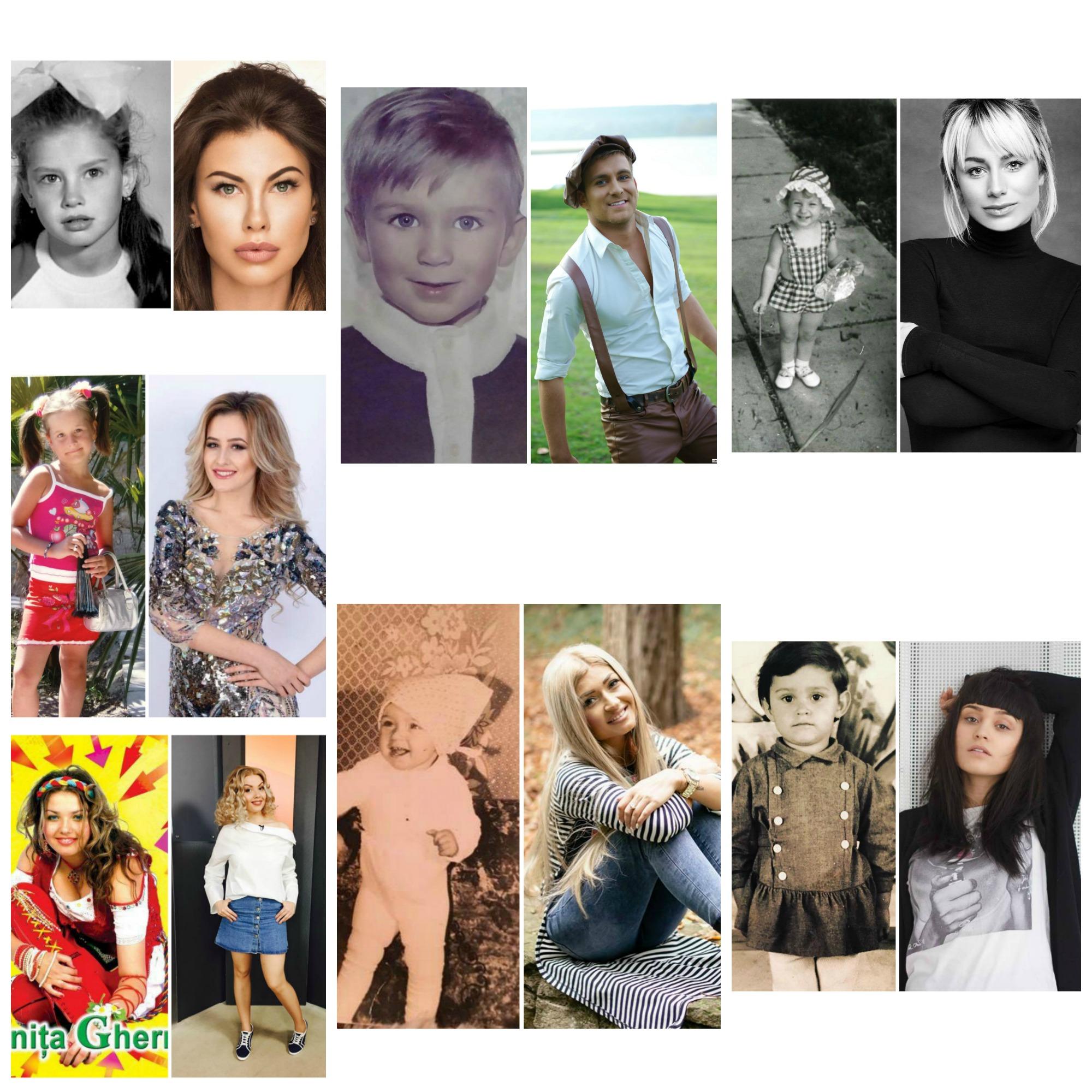 Așa arătau vedetele în copilărie!