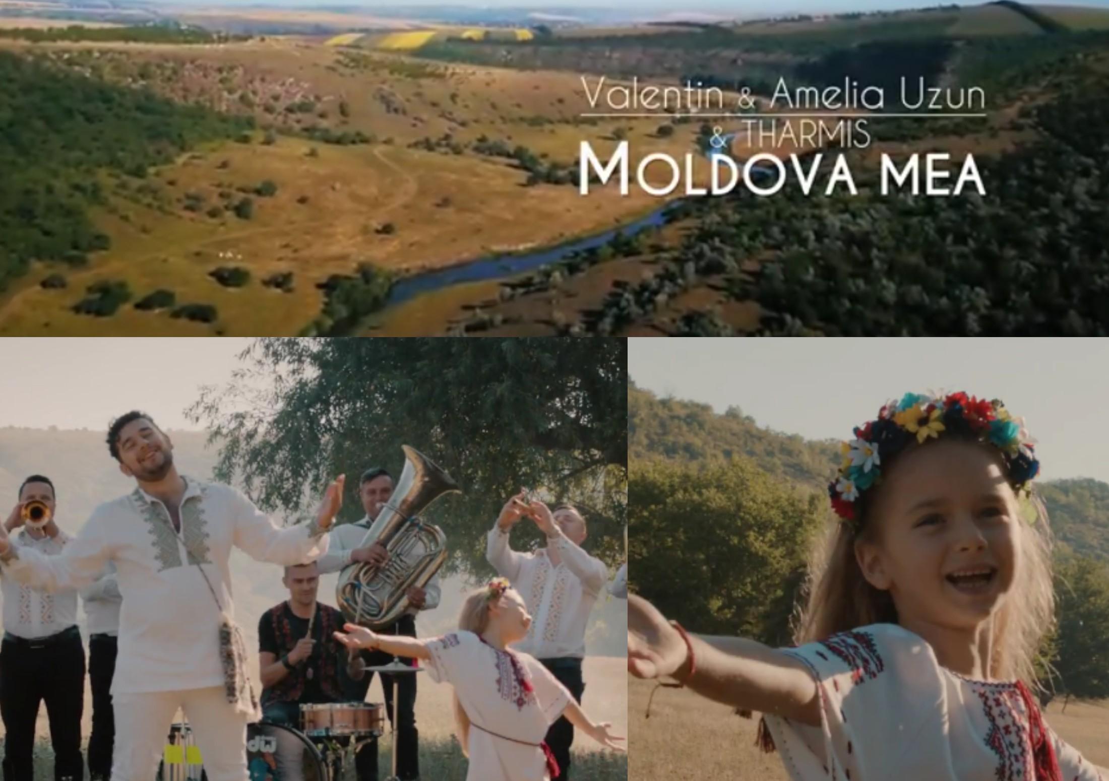 """PREMIERĂ: Valentin și Amelia Uzun au lansat videoclipul ,,Moldova mea"""" – VIDEO"""