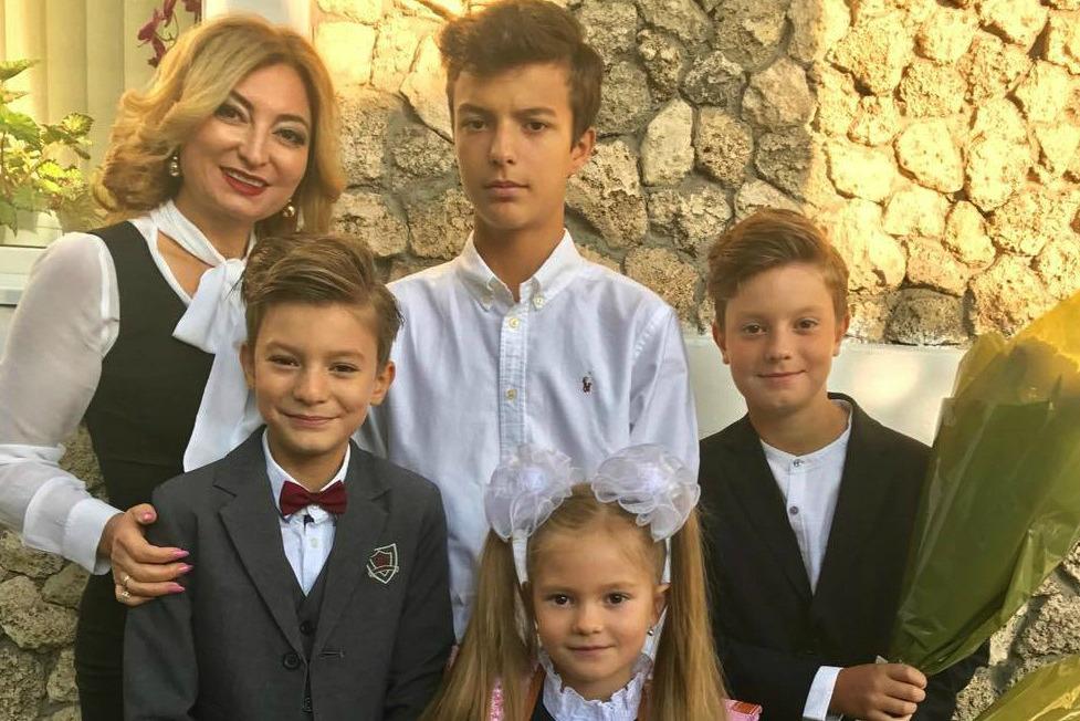 Emoții mari pentru familia Prado la început de an școlar