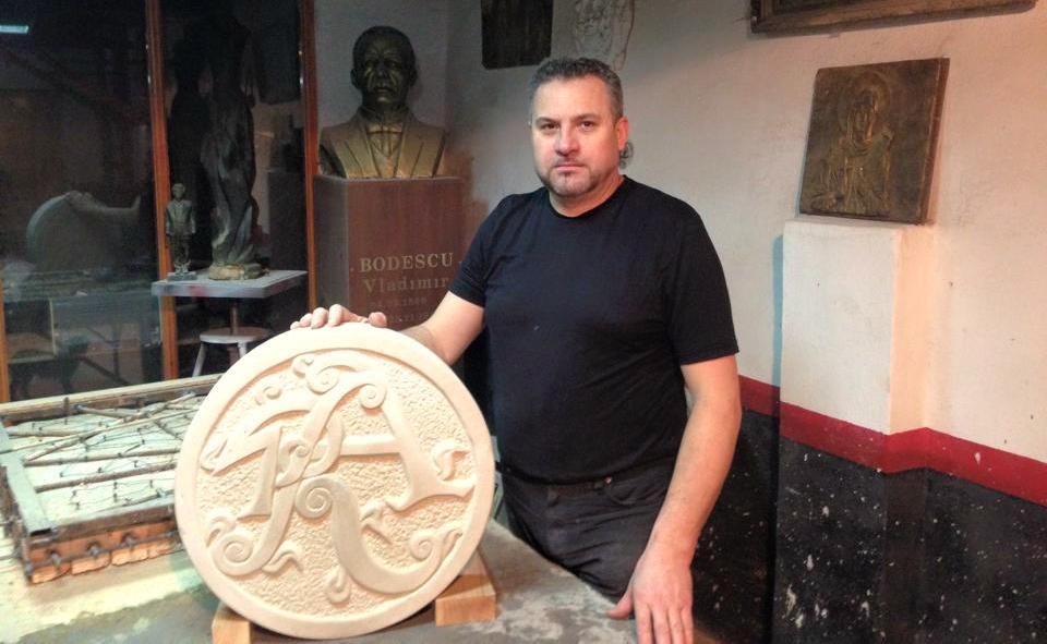 Andrei Dohotaru – sculptorul în mâinile căruia fierul prinde viață!