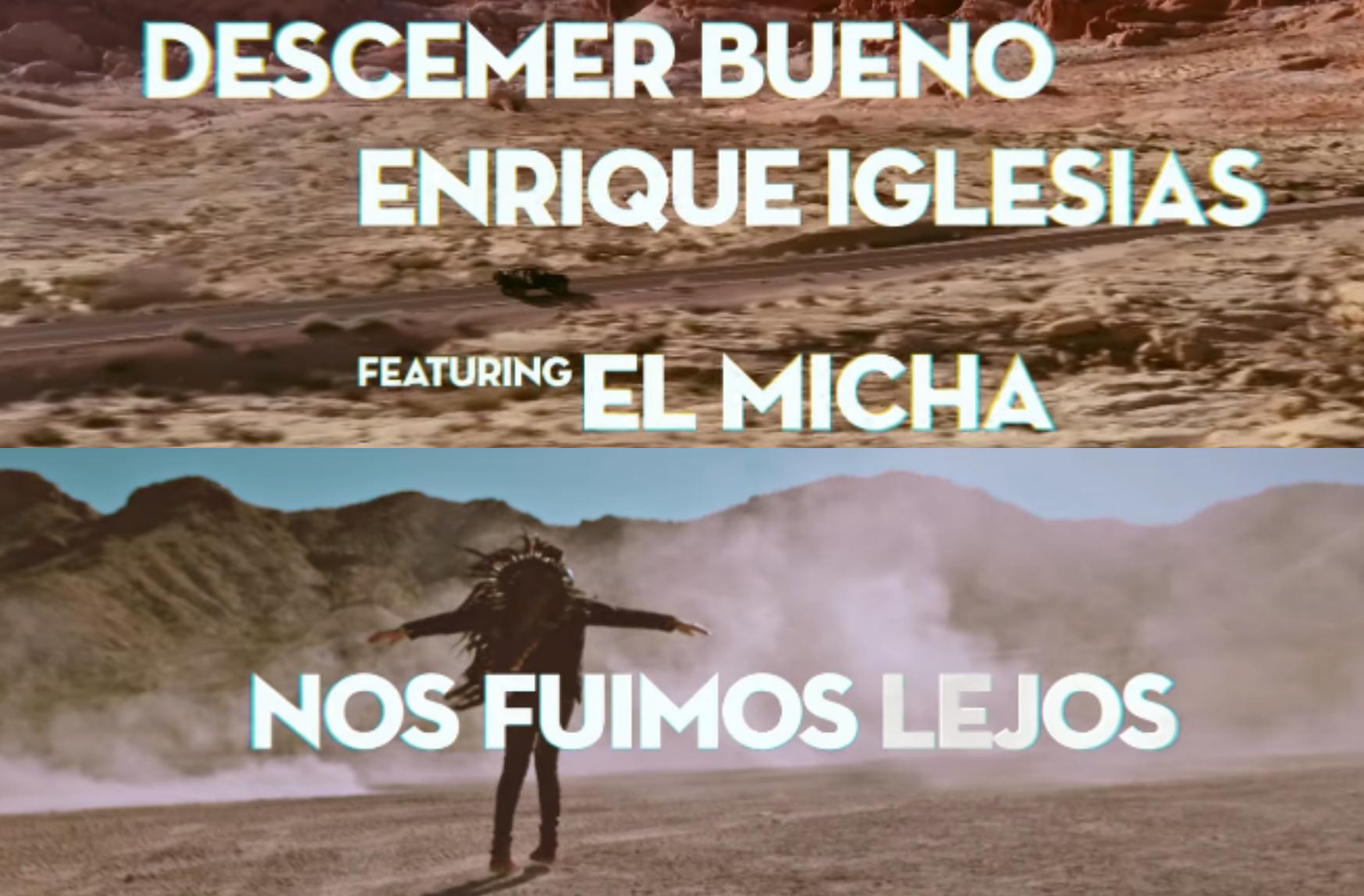 """După piesa fenomen """"Bailando"""", Enrique Iglesias și Descemer Bueno lansează un nou single!"""