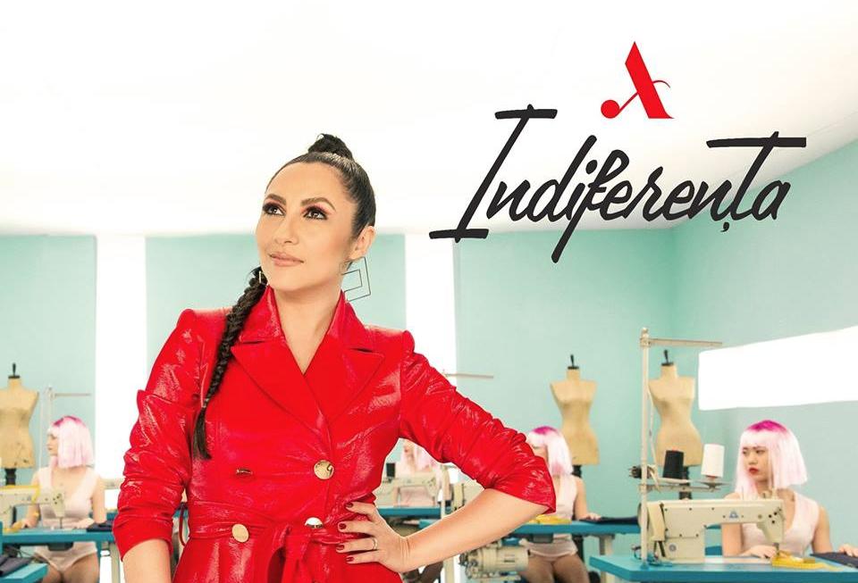 """""""INDIFERENȚA""""- cel mai nou single semnat de Andra!"""