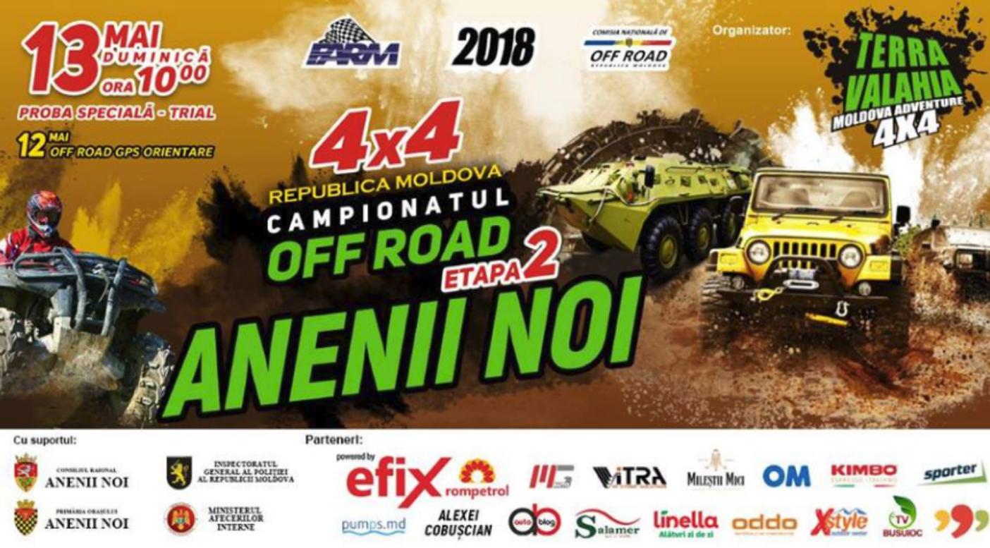 Clubul sportiv Terra Valahia organizează a II-a etapă a Campionatului Național de OFF ROAD