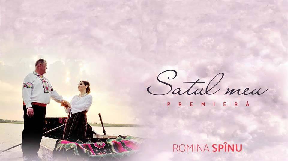Romina Spînu ne prezintă videoclipul dedicat satului ei natal. Tatăl interpretei s-a filmat în clip