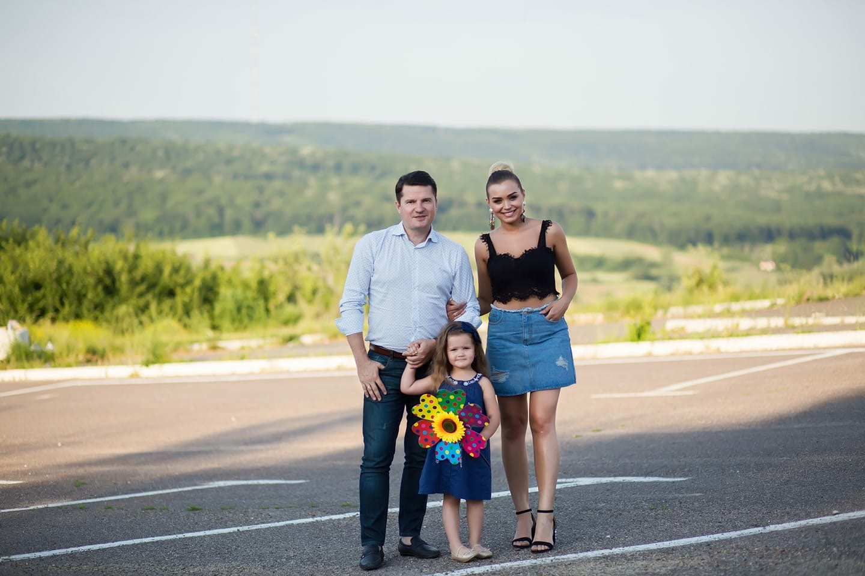 Fiica soților Marcel și Cornelia Ștefăneț a împlinit patru anișori. Ce mesaj i-au transmis părinții