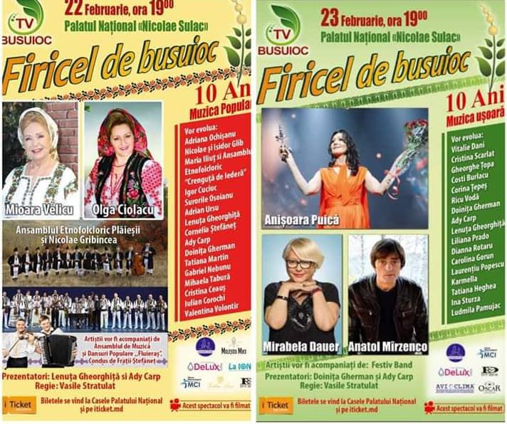 """Tradiționalul Concert   """"Firicel de Busuioc"""" 2019 găzduiește cei mai îndrăgiți artiști"""