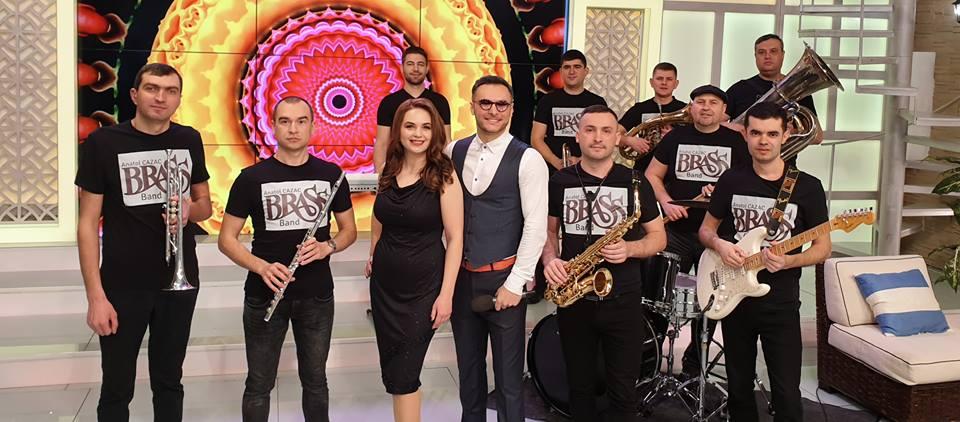 """Brass Band """"Anatol Cazac"""" a transformat o duminică de martie într-un Flash-mob excepțional în Chișinău!"""