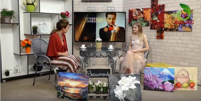 Beaumonde – Invitată tânara pictoriță Aurelia Daraban