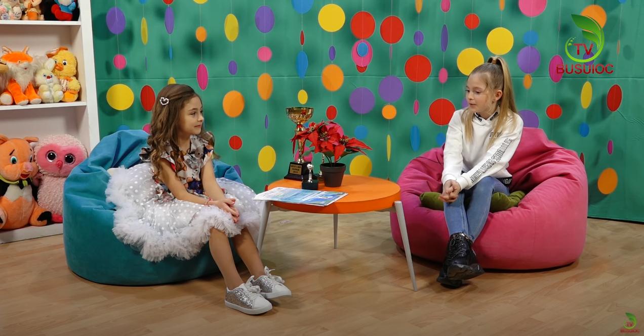 """E Misiunea Copiilor"" cu Olivia-Carmen Prado – Invitatul emisiunii Daria-Mirela Ududovici"