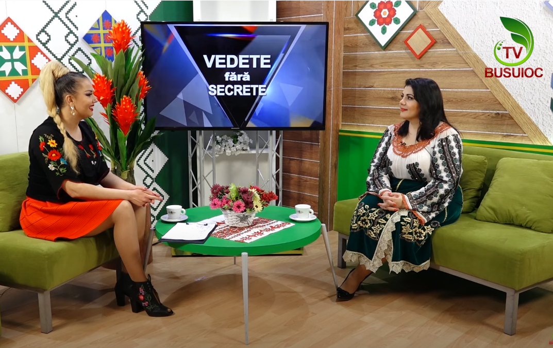 """""""VEDETE FĂRĂ SECRETE"""" – Anișoara Dabija : """"Eu m-am născut odată cu Busuioc TV"""""""