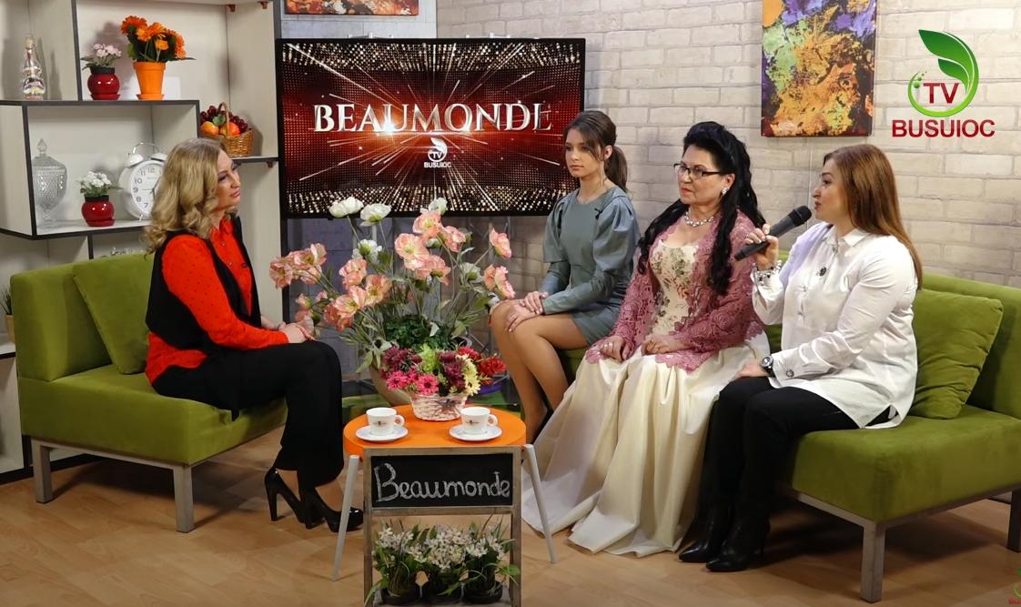 """Beaumonde – Tamara Balan, Alexandrina Rebeja și fondatoarea Studioului """"Fii un STAR"""" – Inna Bobeică"""