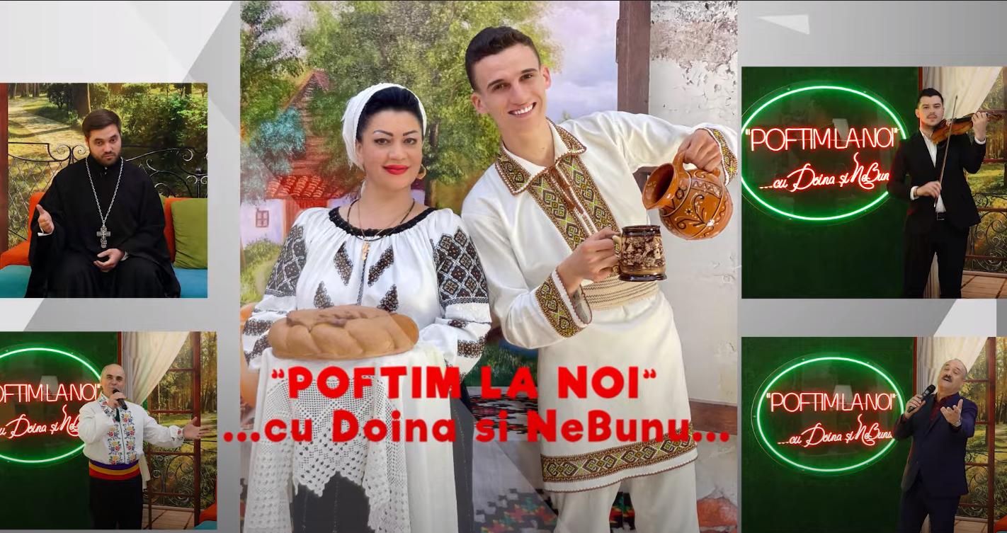 """""""𝗣𝗼𝗳𝘁𝗶𝗺 𝗹𝗮 𝗡𝗼𝗶"""" 𝗰𝘂 𝗗𝗼𝗶𝗻𝗮 ș𝗶 𝗡𝗲𝗕𝘂𝗻𝘂-Gheorghe Bazatin, Gheorghe și Gheorghiță Caradja și Gheorghe Țopa"""