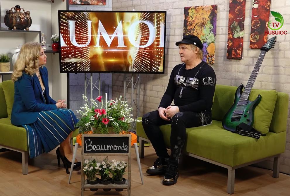 Beaumonde – Invitatul emisiunii : Ruslan Țăranu – Interpet, chitarist, muzician rock și producător