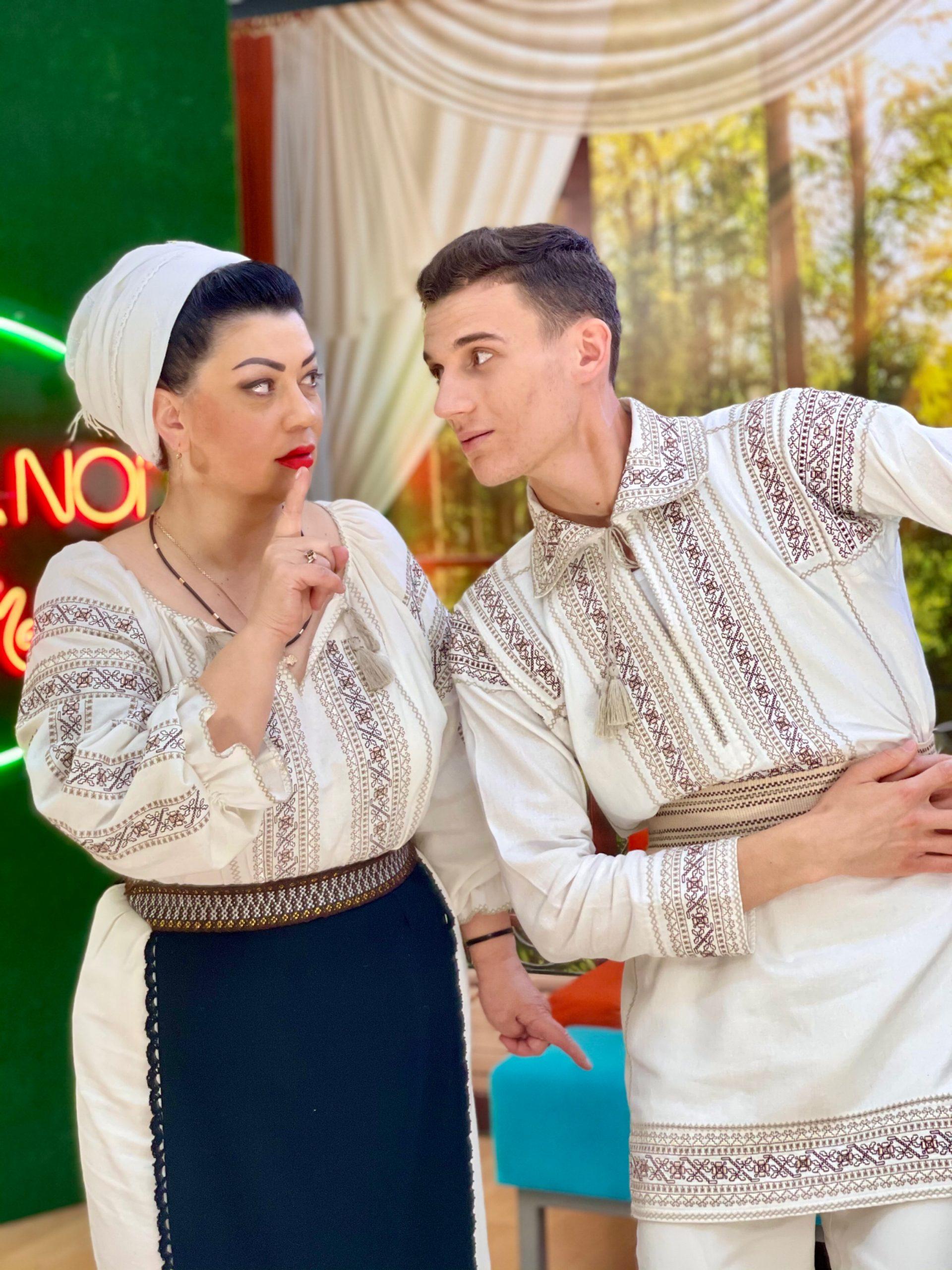 """""""𝗣𝗼𝗳𝘁𝗶𝗺 𝗹𝗮 𝗡𝗼𝗶"""" 𝗰𝘂 𝗗𝗼𝗶𝗻𝗮 ș𝗶 𝗡𝗲𝗕𝘂𝗻𝘂 – Invitați:  Veronica Cheltuială și Dumitru Cojuhari."""